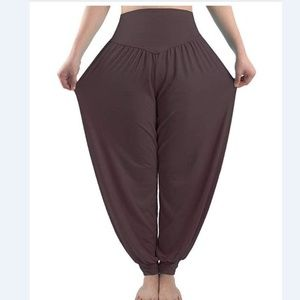Pants - Women's Harem Pants Loose Casual Lounge Yoga Pants